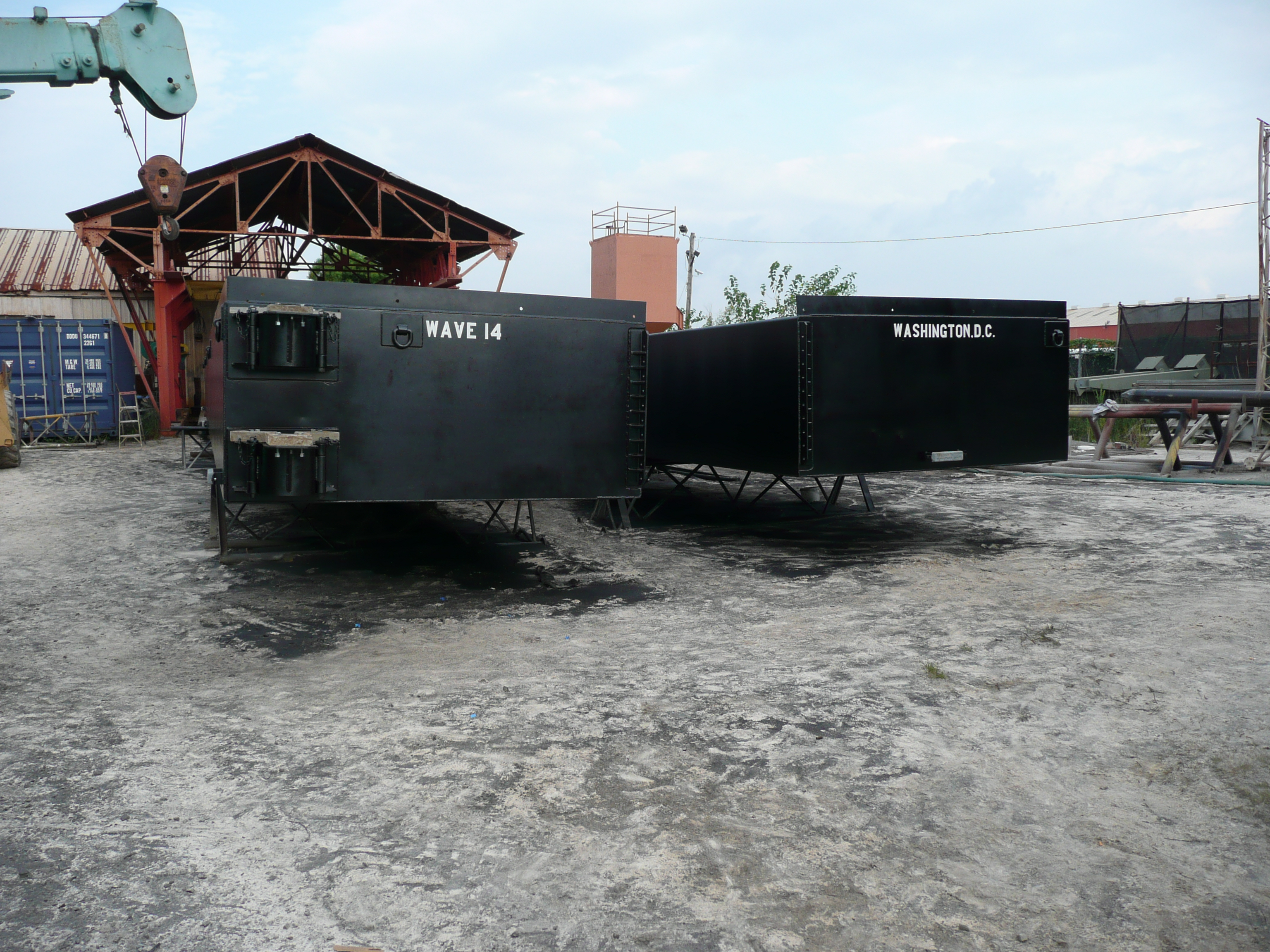 Fabrication of Barge for MSI